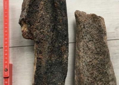 Mammutknochen für Messergriffe