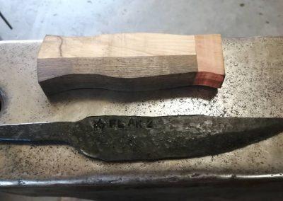 Messerklinge richtig härten