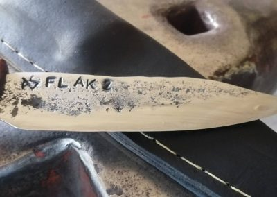 Messer aus Flakrohr