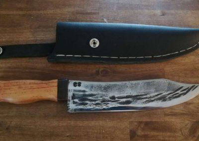 Küchenmesser selber schmieden