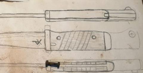 zeichnung deines wunschmessers