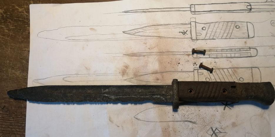 restaurierung bajonett entwurf