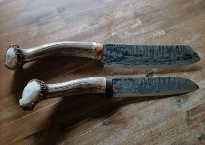 Küchenmesser aus Panzerstahl