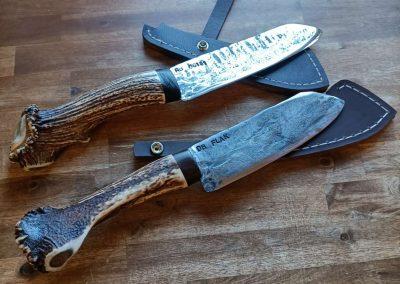 Messer aus Schmiedekurs