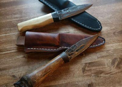 handgschmiedete Messer aus Kurs